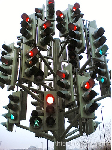 Crazy Traffic Lights