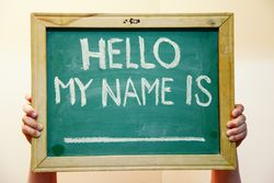 My name is ______